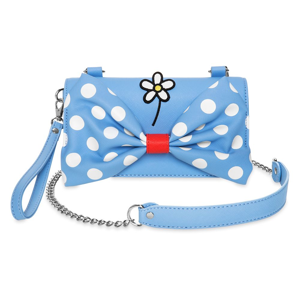 Minnie Mouse ''Positively Minnie'' Crossbody Wristlet by Loungefly Official shopDisney