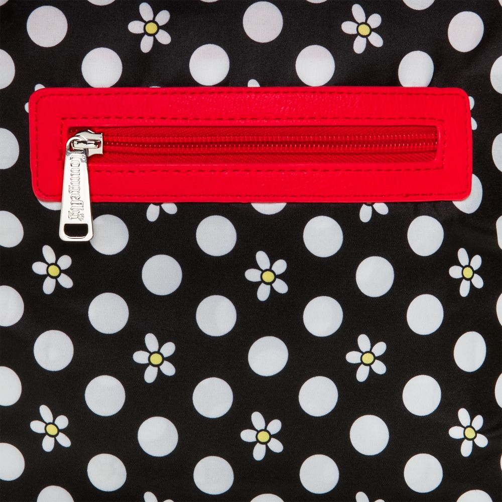 Minnie Mouse Canvas Backpack by Loungefly