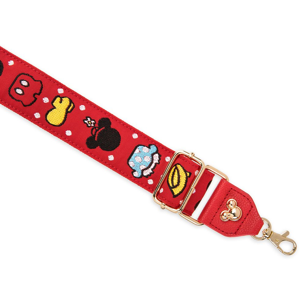 Mickey and Minnie Mouse Bag Strap – Red