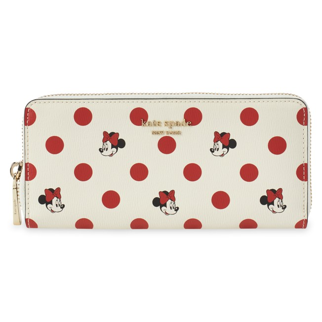 Minnie Mouse Polka Dot Wallet by kate spade new york