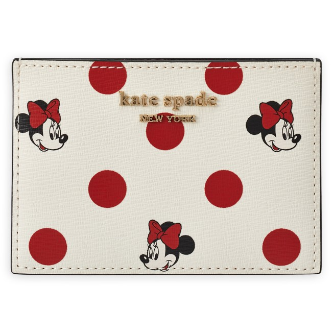 Minnie Mouse Polka Dot Card Case by kate spade new york