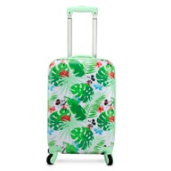 Mickey and Minnie Mouse Tropical Rolling Luggage