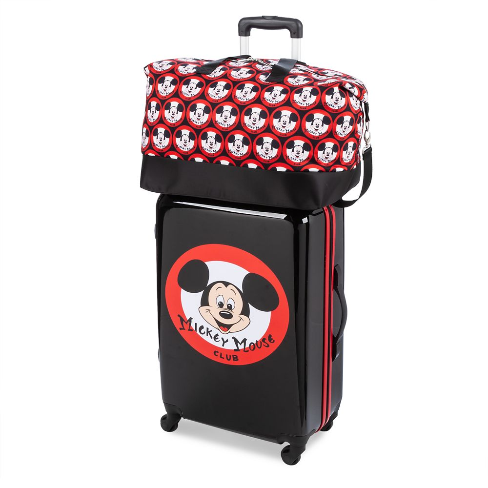 The Mickey Mouse Club Luggage Set – Disney Rewards Cardmember Exclusive