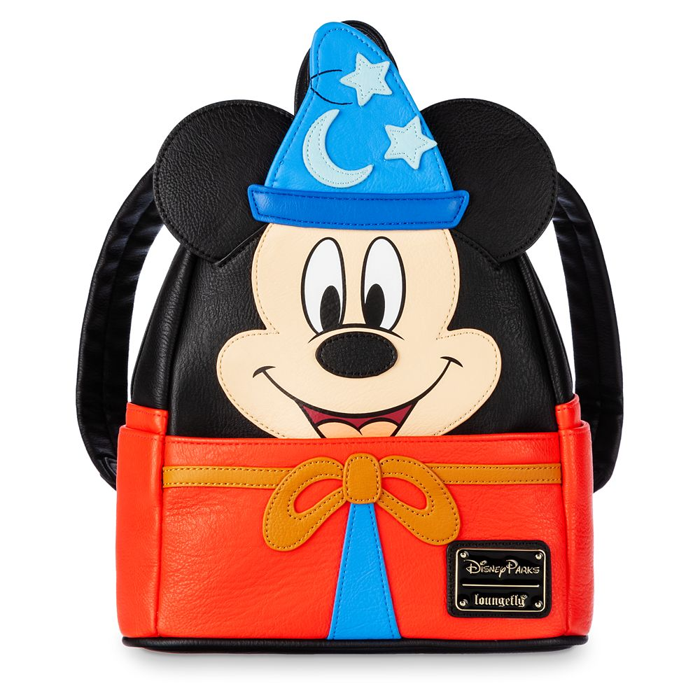 Sorcerer Mickey Mouse Loungefly Mini Backpack