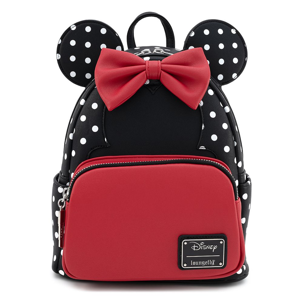 Minnie Mouse Polka Dot Mini Backpack by Loungefly