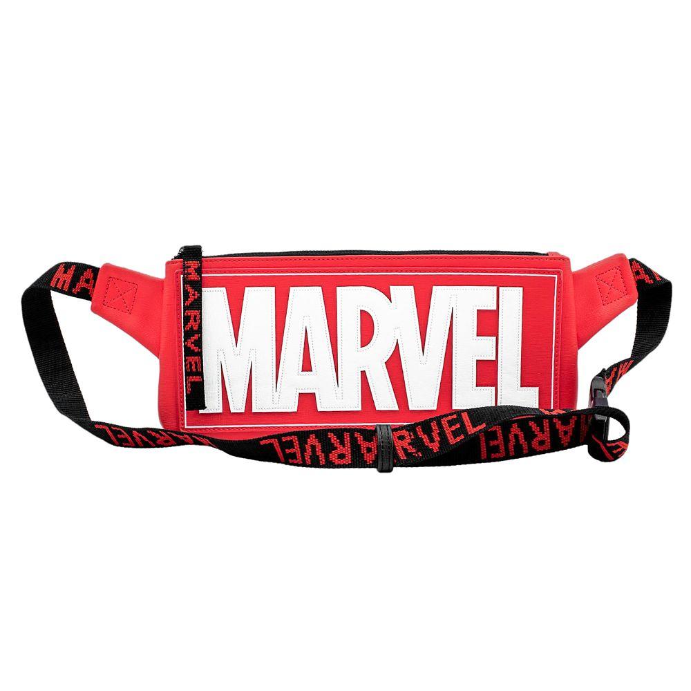 Marvel Logo Loungefly Belt Bag