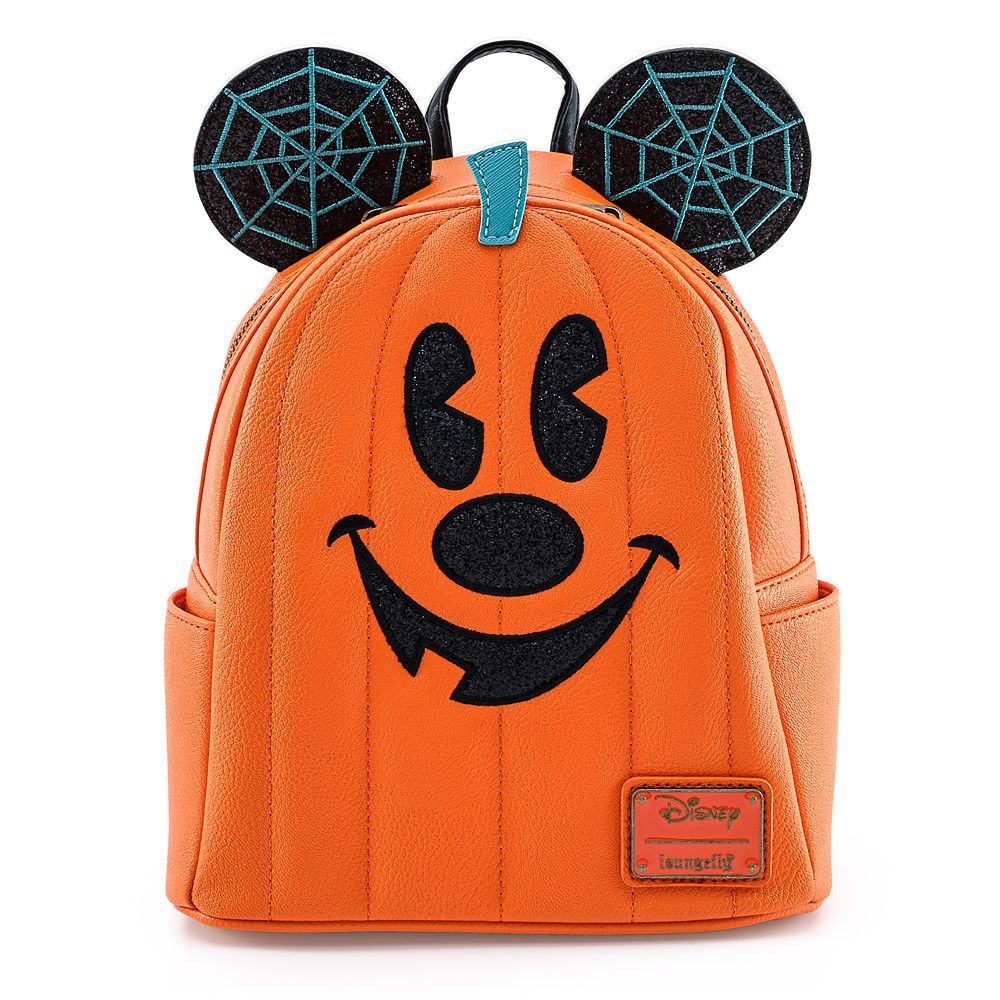 Mickey Mouse Jack-o'-Lantern Mini Backpack by Loungefly