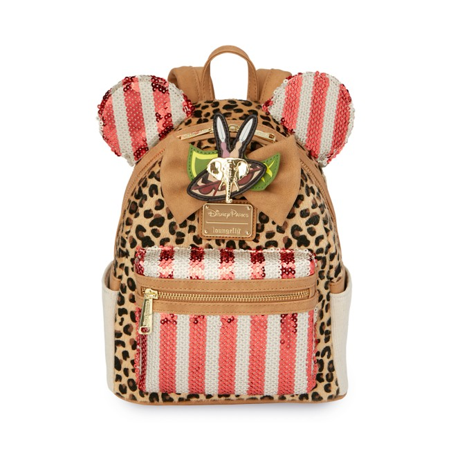 Minnie Mouse: The Main Attraction Loungefly Mini Backpack – Jungle Cruise – Limited Release