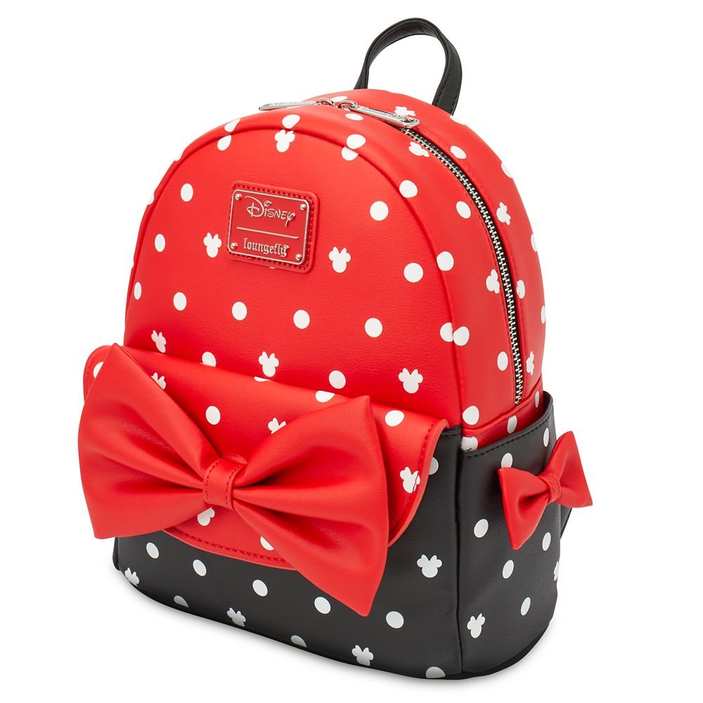 Minnie Mouse Bow Loungefly Mini Backpack