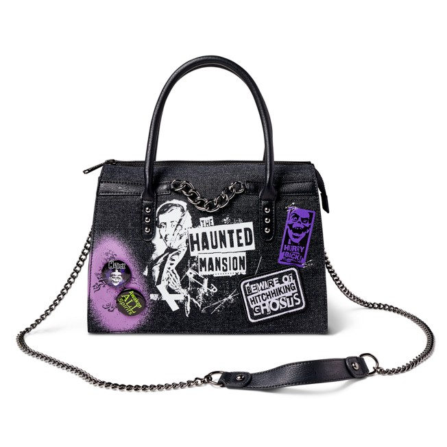 The Haunted Mansion Loungefly Crossbody Bag