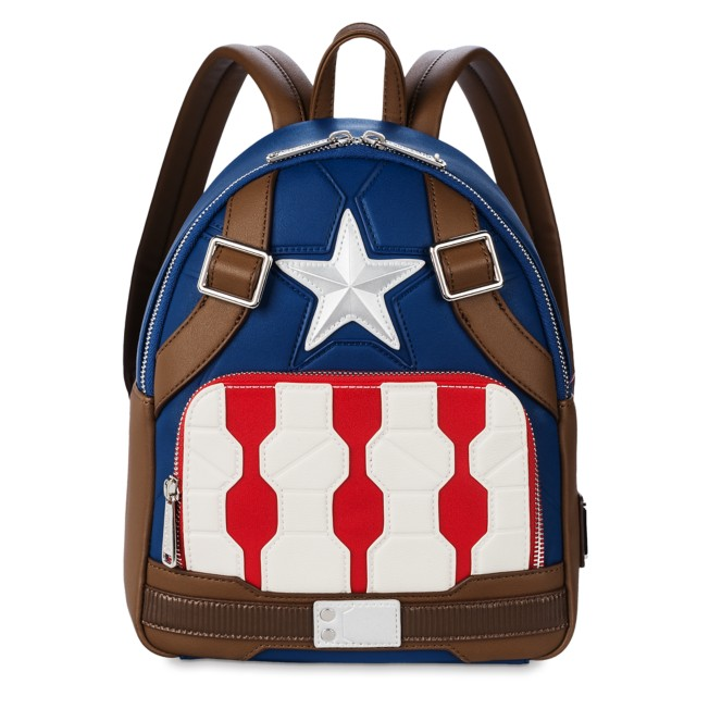 Captain America Loungefly Mini Backpack