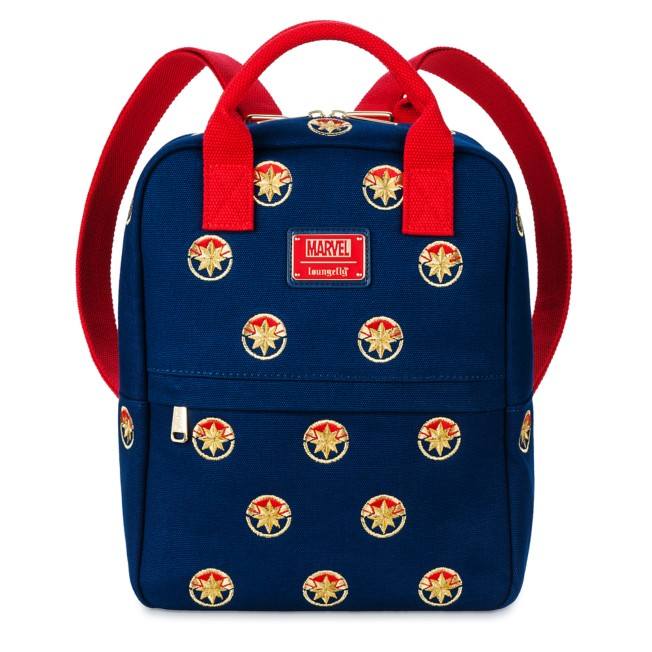 Captain Marvel Loungefly Backpack