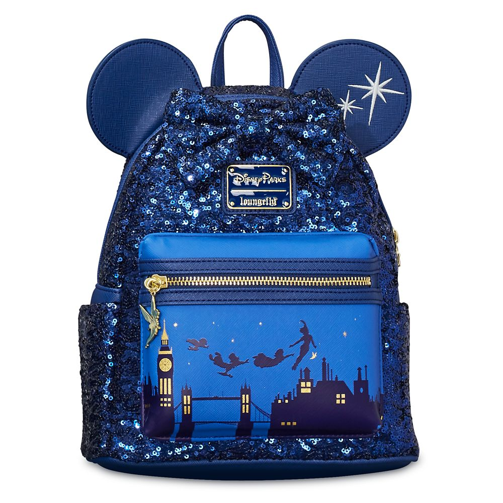 Minnie Mouse: The Main Attraction Mini Backpack by Loungefly – Peter Pan's Flight – Limited Release