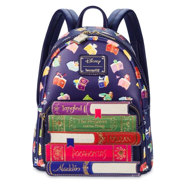 Disney Princess Storybook Loungefly Mini Backpack