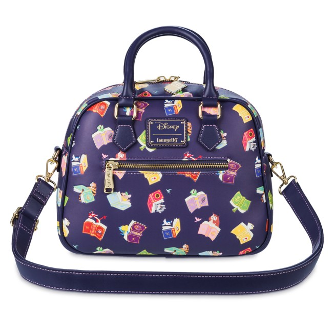 Disney Princess Storybook Loungefly Crossbody Bag