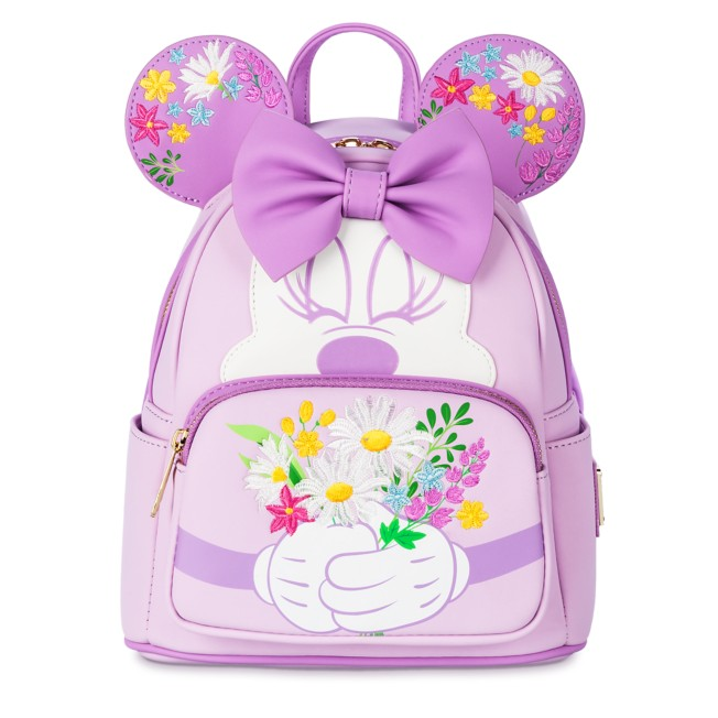 Minnie Mouse Flower Loungefly Mini Backpack