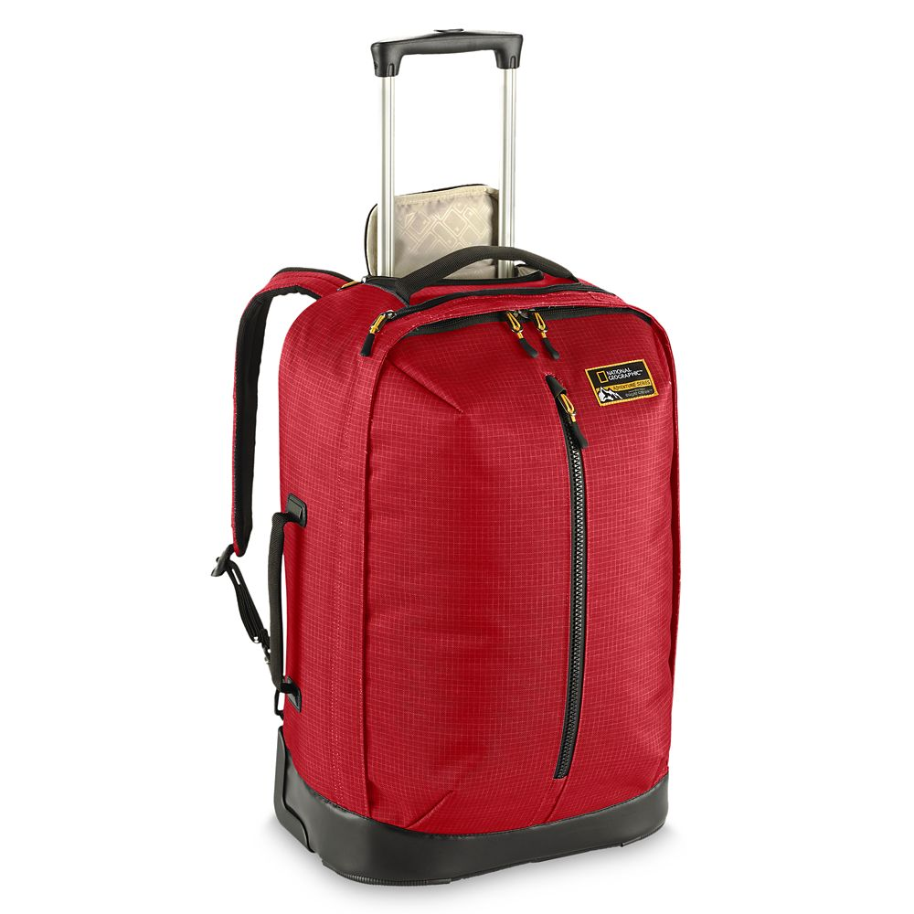 Convertible Carry-On Bag by Eagle Creek – National Geographic – Red