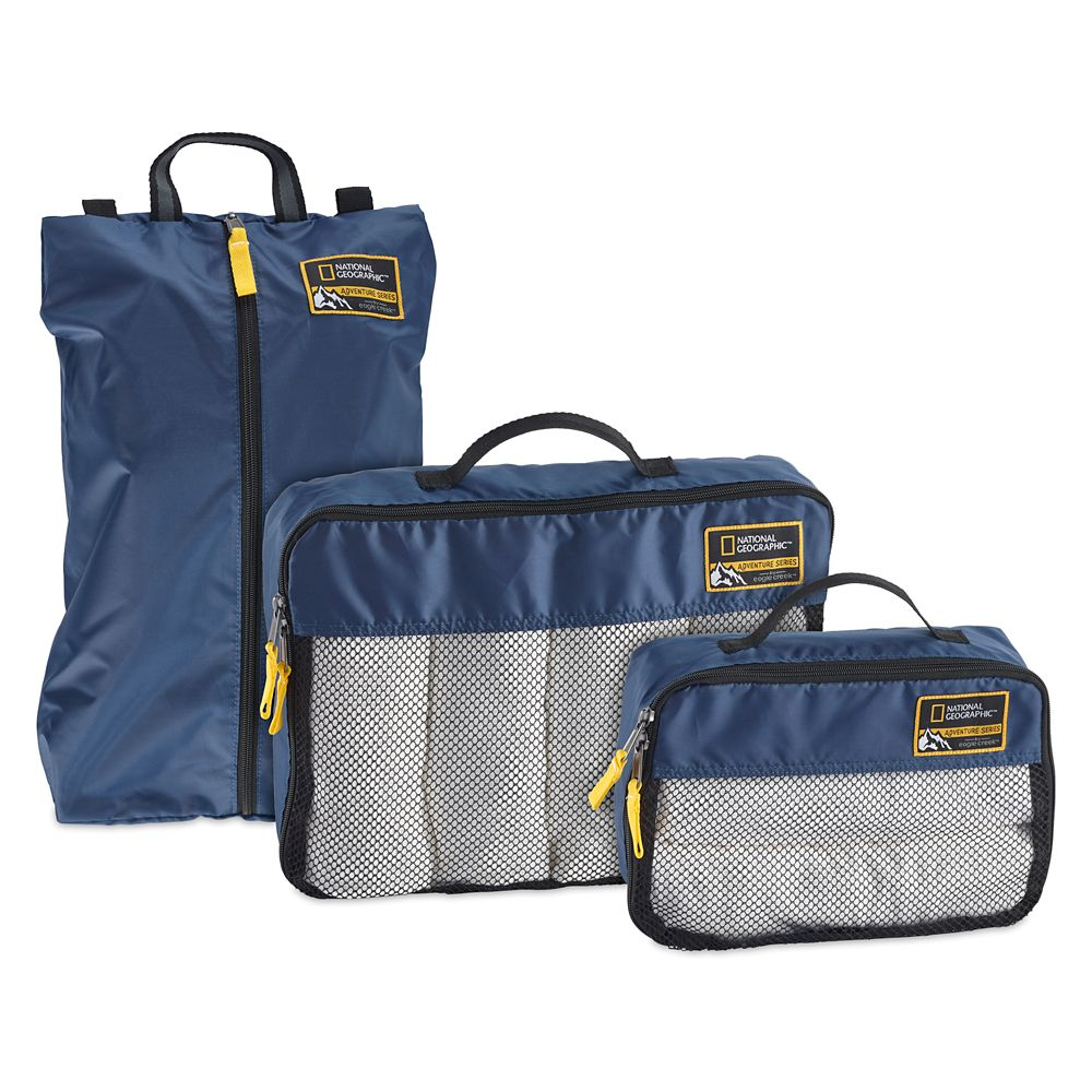 Adventure Essentials Packing Set by Eagle Creek – National Geographic – Blue