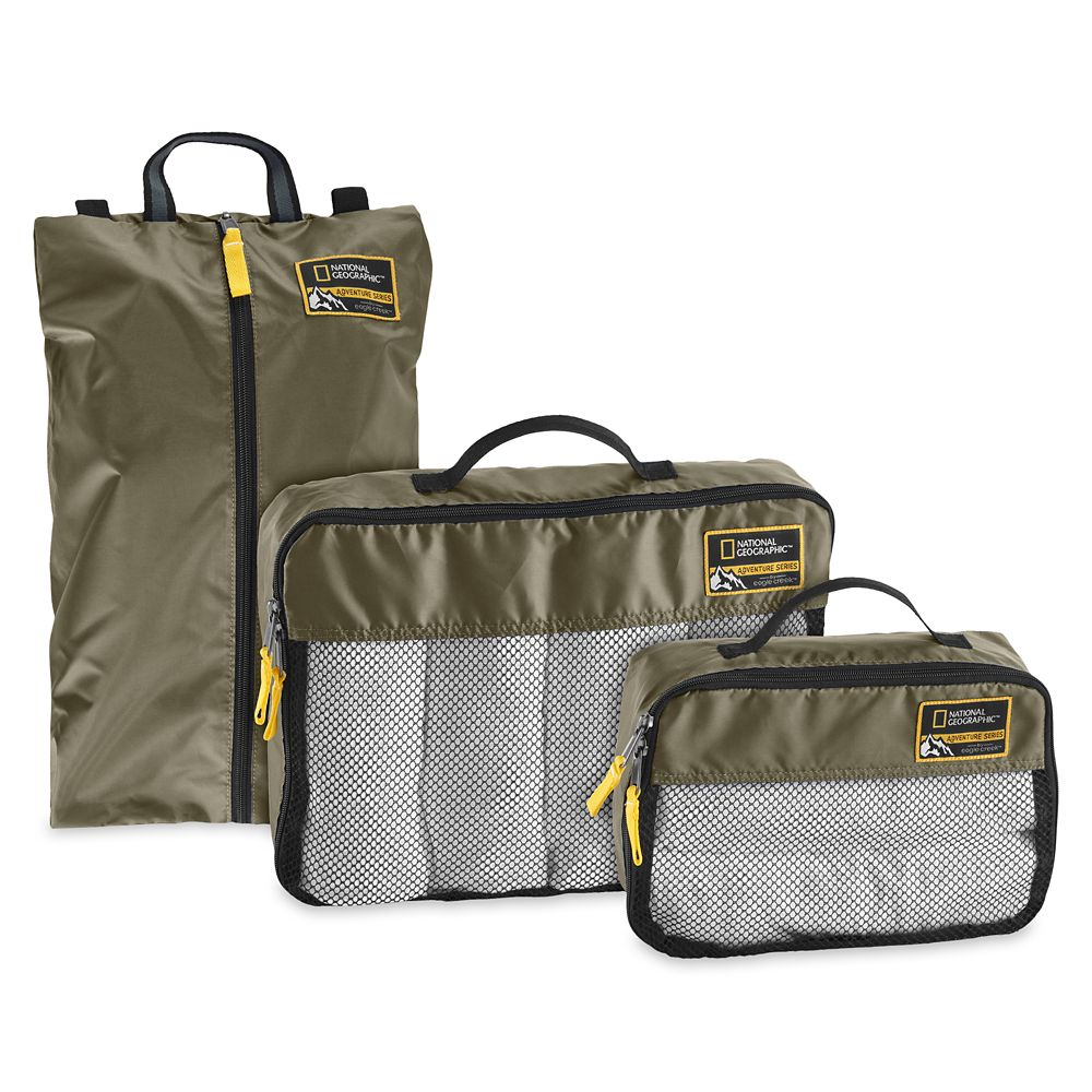 Adventure Essentials Packing Set by Eagle Creek – National Geographic – Green