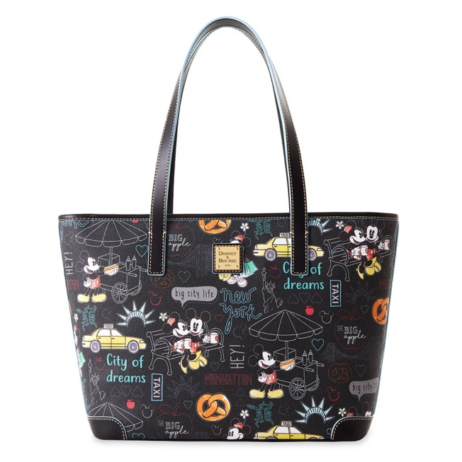 Mickey and Minnie Mouse New York City Dooney & Bourke Tote