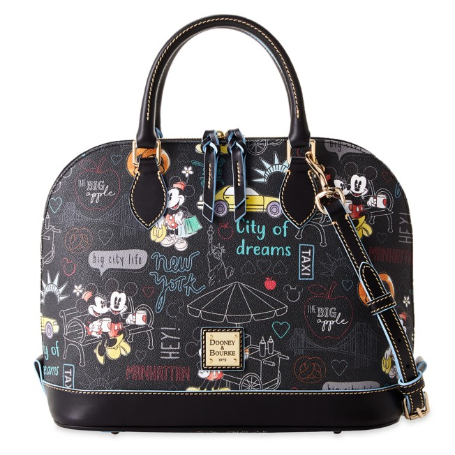 Mickey and Minnie Mouse New York City Dooney & Bourke Satchel