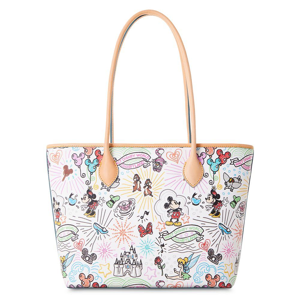 Disney Sketch Tote Bag by Dooney & Bourke
