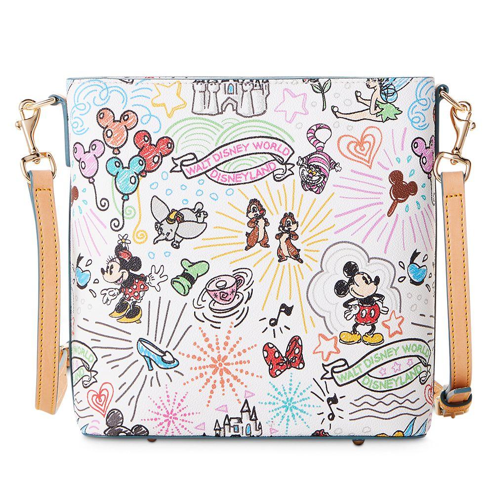 Disney Sketch Crossbody Bag by Dooney & Bourke