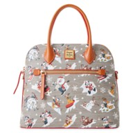 Mickey Mouse and Friends Holiday Dooney & Bourke Dome Satchel