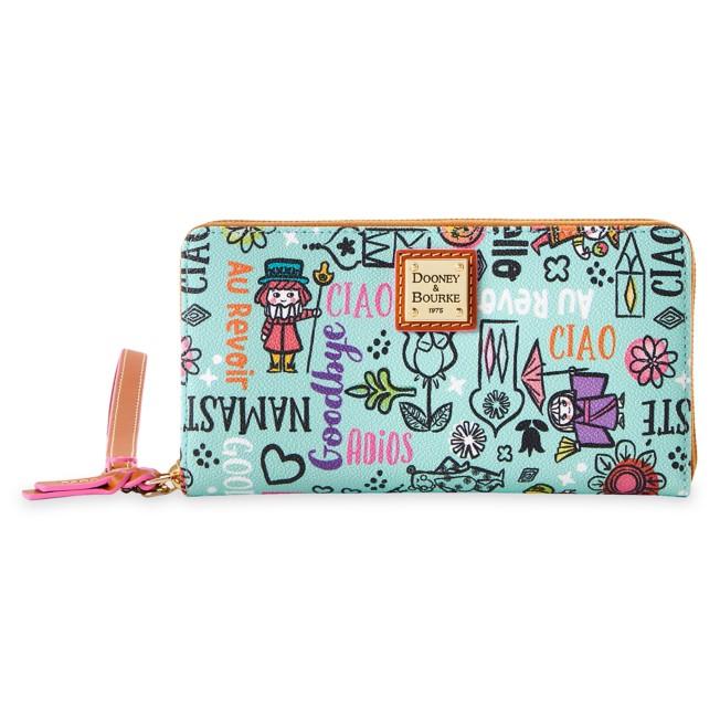 Disney it's a small world Dooney & Bourke Wristlet Wallet