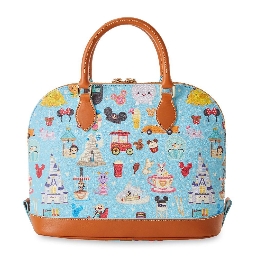 Disney Parks Dooney & Bourke Zip Satchel Bag by Jerrod Maruyama