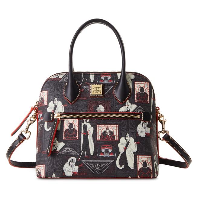 Cruella De Vil Zip Domed Satchel by Dooney & Bourke – 101 Dalmatians