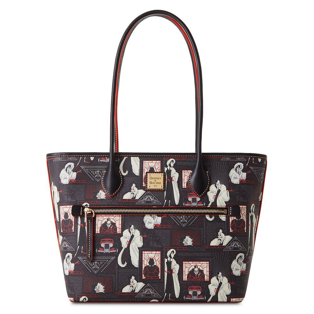 Cruella De Vil Zip Tote Bag by Dooney&Bourke – 101 Dalmatians