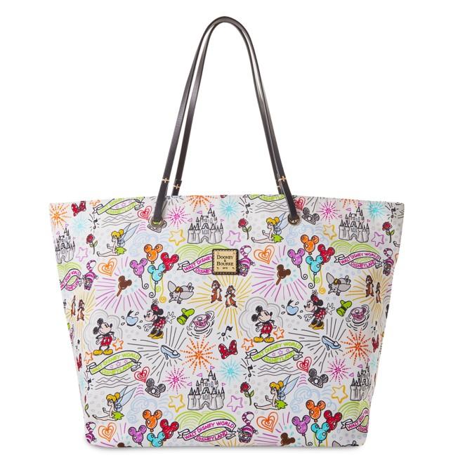 Disney Sketch Reversible Nylon Tote Bag by Dooney & Bourke