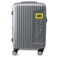 National Geographic Rolling Luggage – Silver – 24''