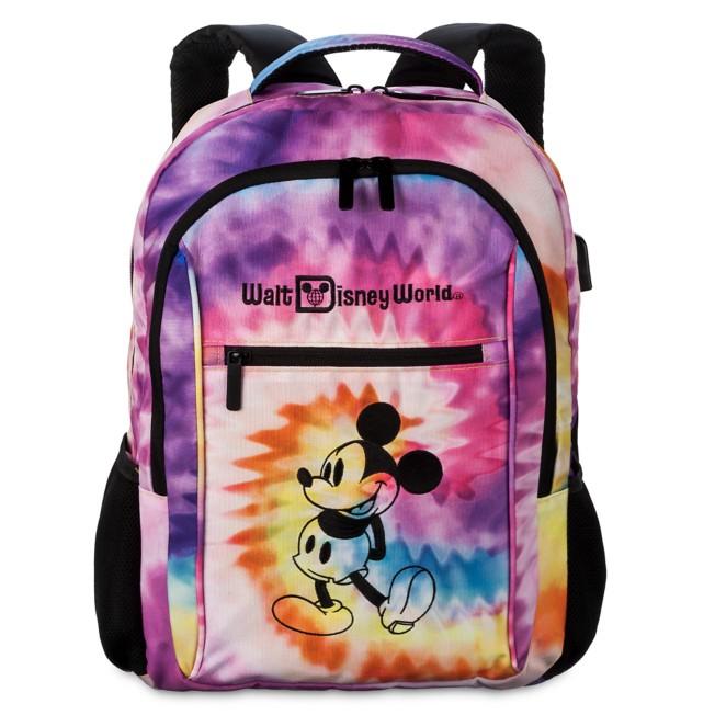 Mickey Mouse Tie-Dye Backpack – Walt Disney World