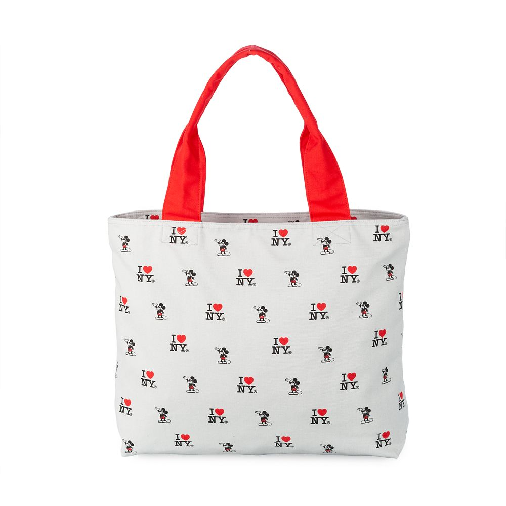 Mickey Mouse Canvas Tote – I ♥ NY®