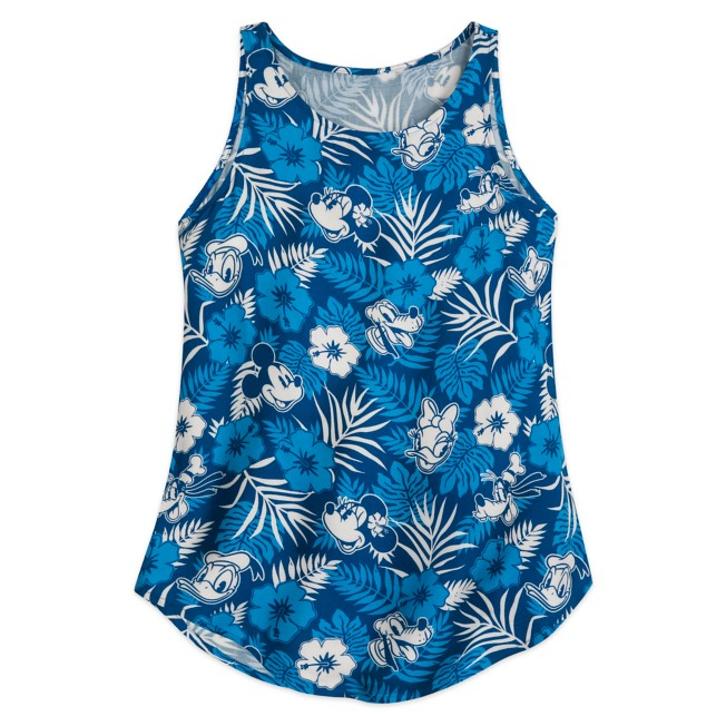 Mickey Mouse and Friends Aloha Tank Top for Women – Hawaii