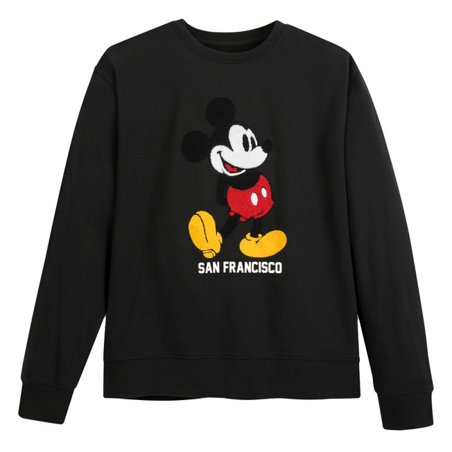 Mickey Mouse Classic Pullover Sweatshirt for Adults – San Francisco