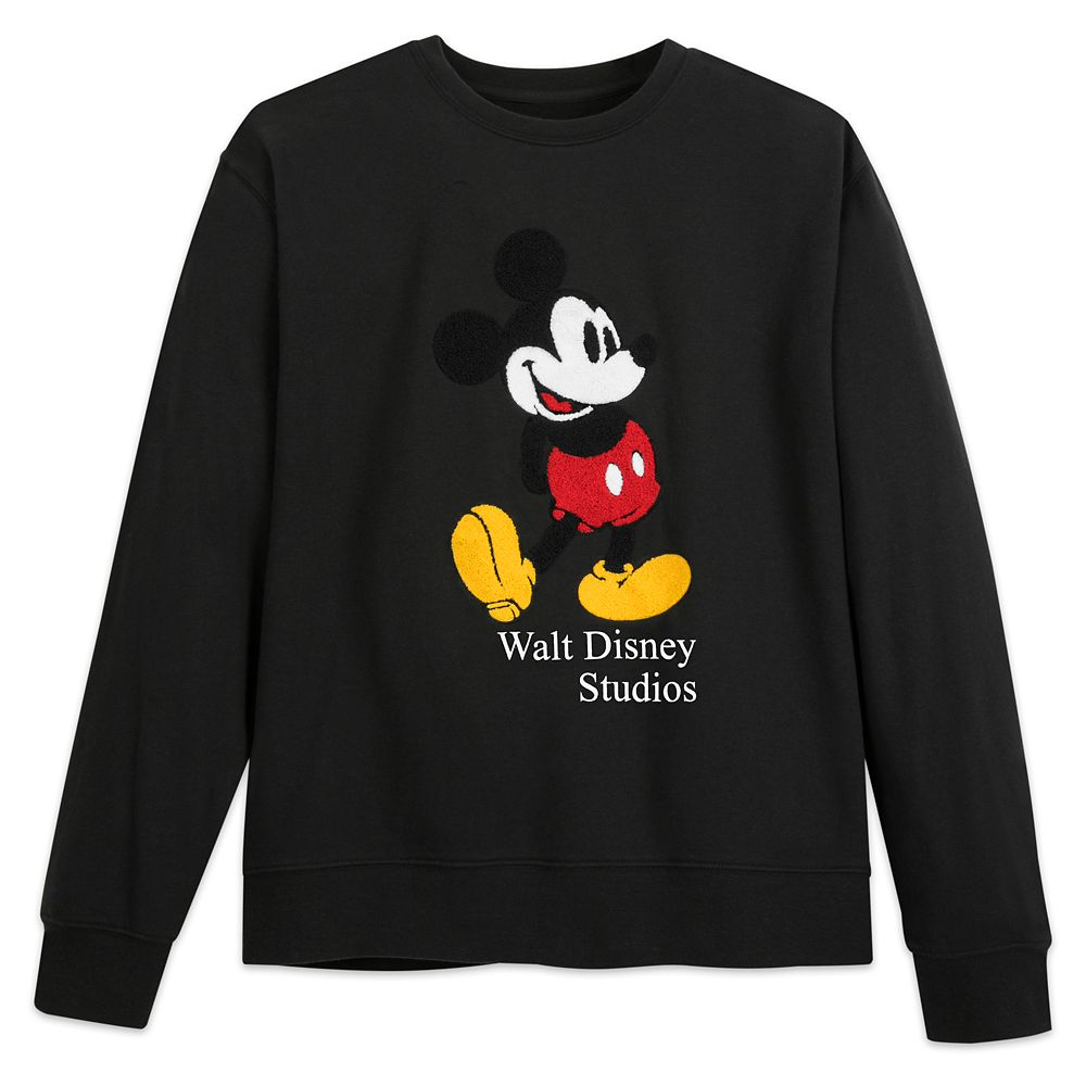 Mickey Mouse Classic Sweatshirt for Adults – Walt Disney Studios