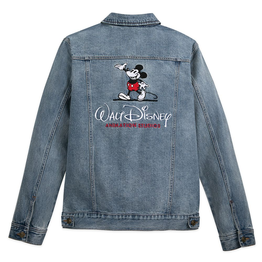 Mickey Mouse Denim Jacket for Adults – Walt Disney Animation Studios