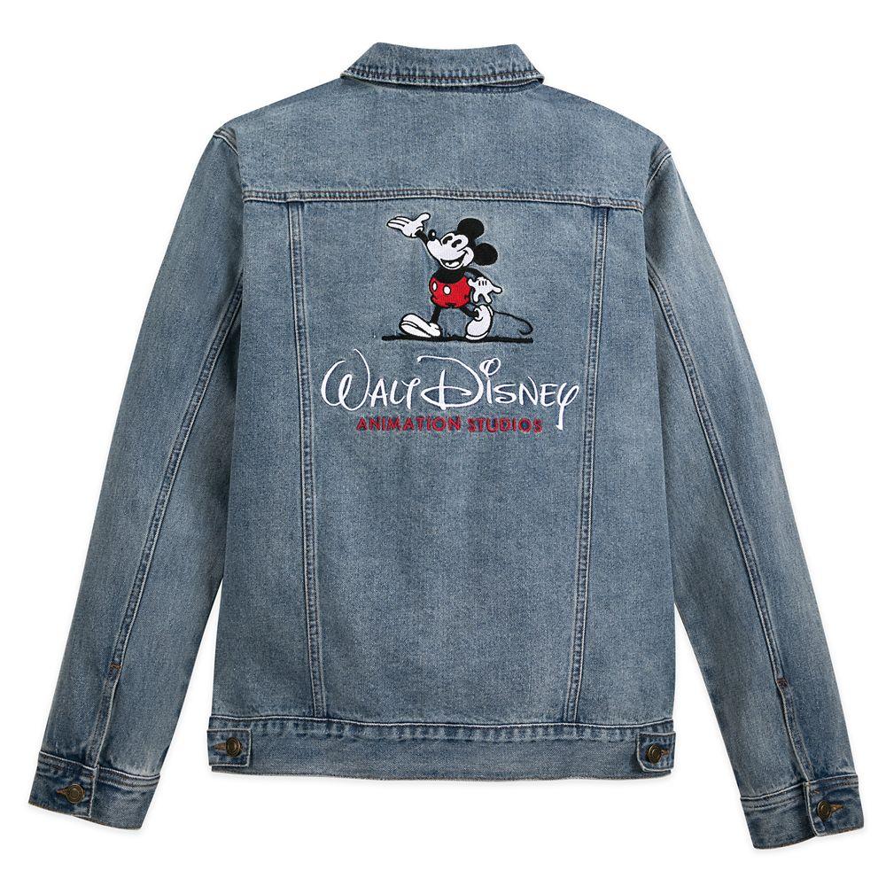 Mickey Mouse Denim Jacket for Adults – Walt Disney Animation Studios