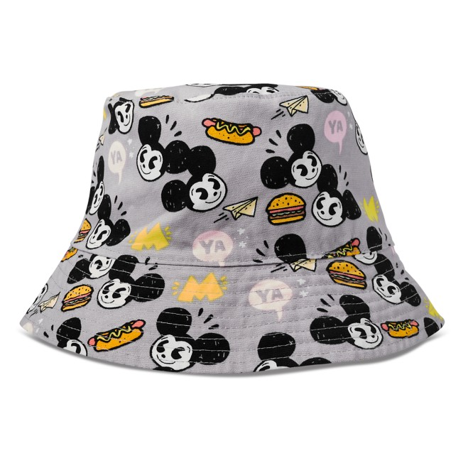 Mickey Mouse Reversible Bucket Hat for Adults by Nanako Kanemitsu