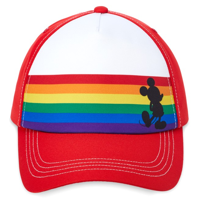 Mickey Mouse Baseball Cap for Adults – Rainbow Disney Collection