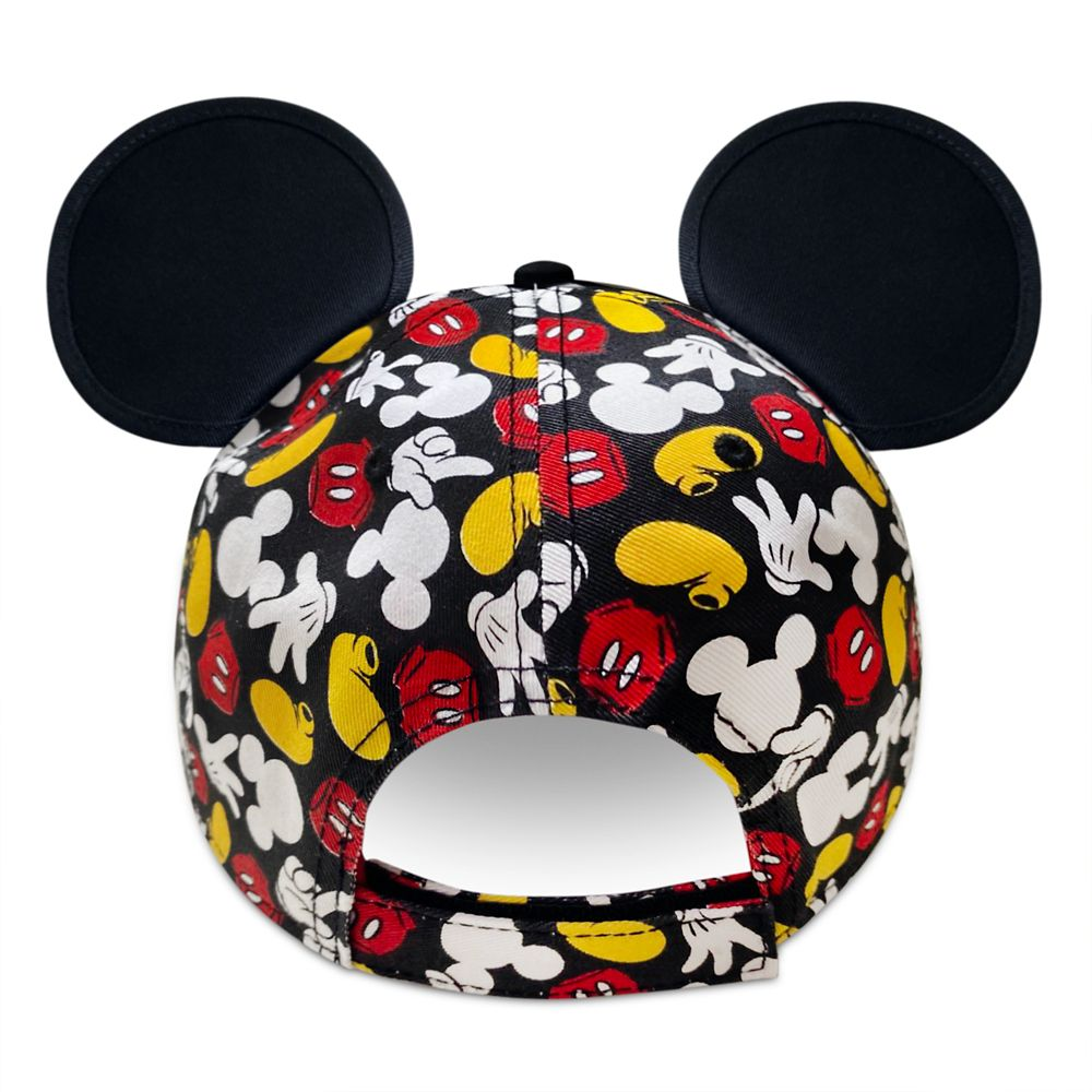 Mickey Mouse Parts Baseball Cap for Adults