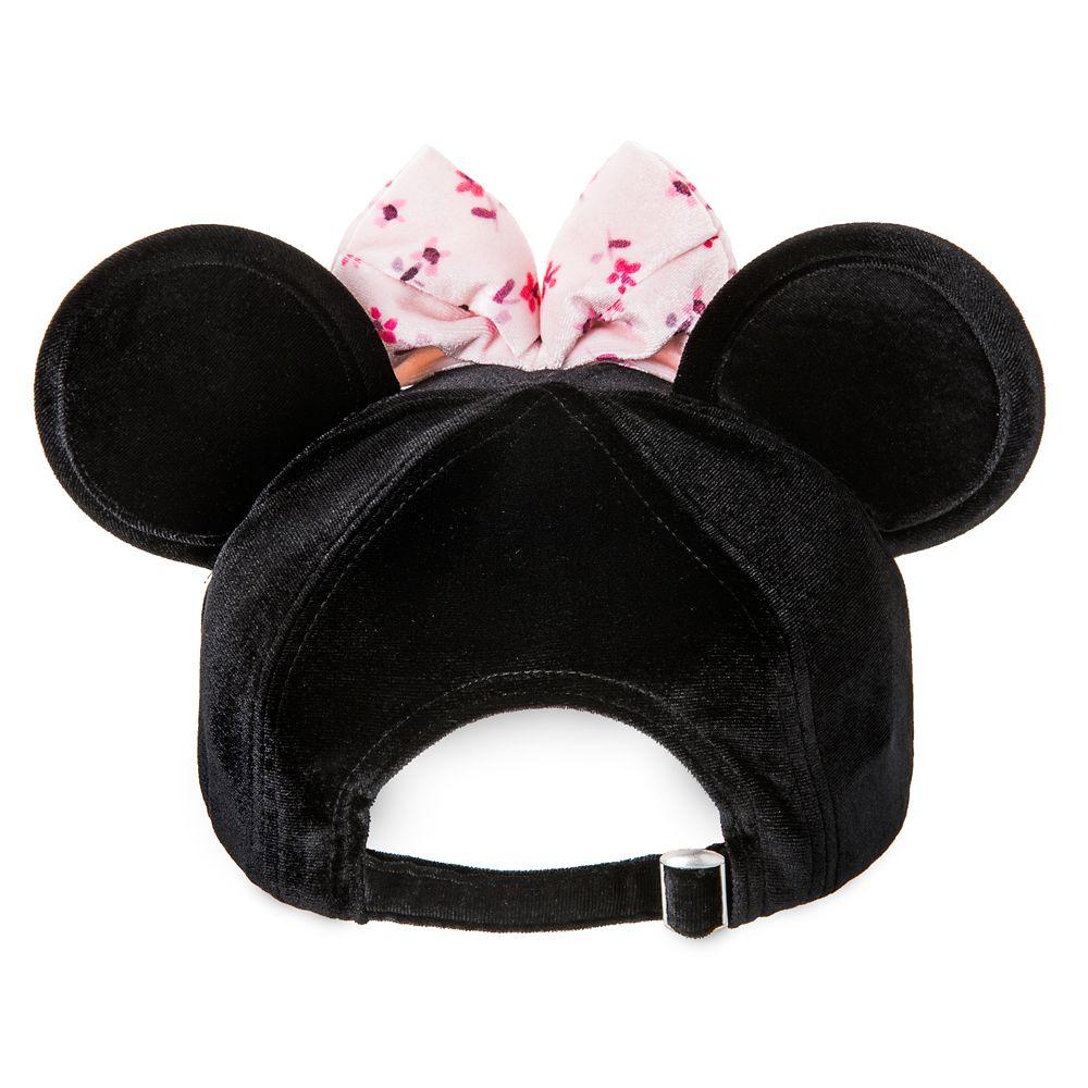 Minnie Mouse Velvet Ear Baseball Cap for Women