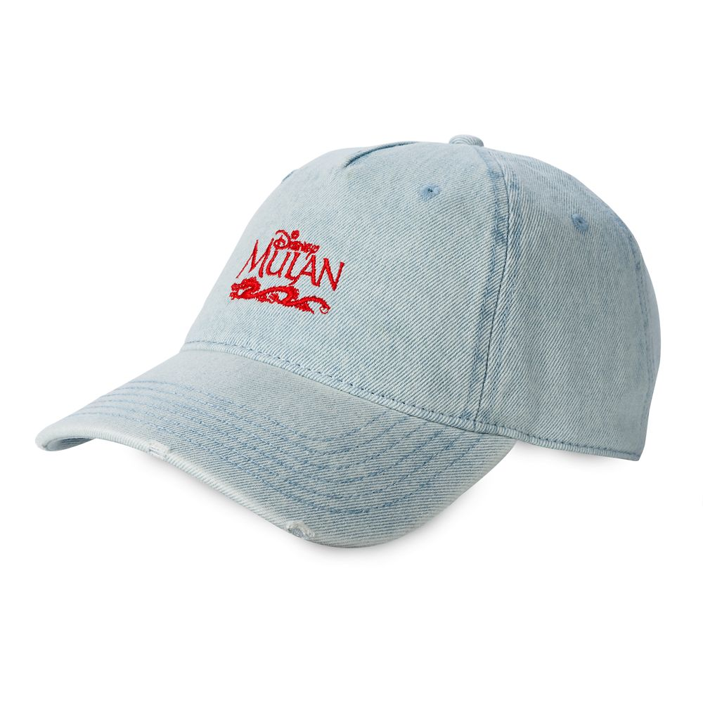 Mulan Denim Baseball Cap