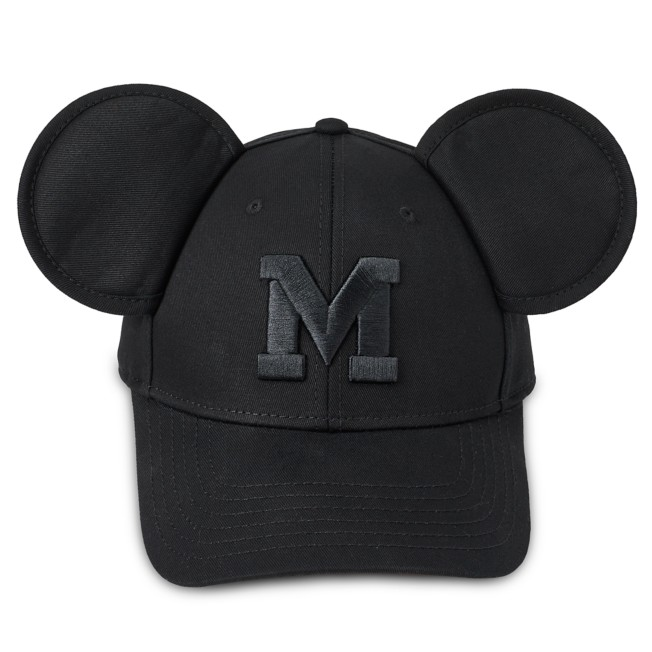 Mickey Mouse Baseball Ear Cap for Adults
