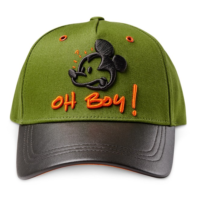 Mickey Mouse Baseball Cap by Bret Iwan