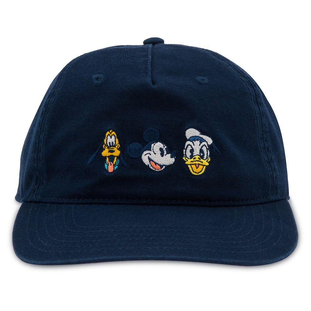 Mickey Mouse and Friends Summer Fun Baseball Cap for Adults