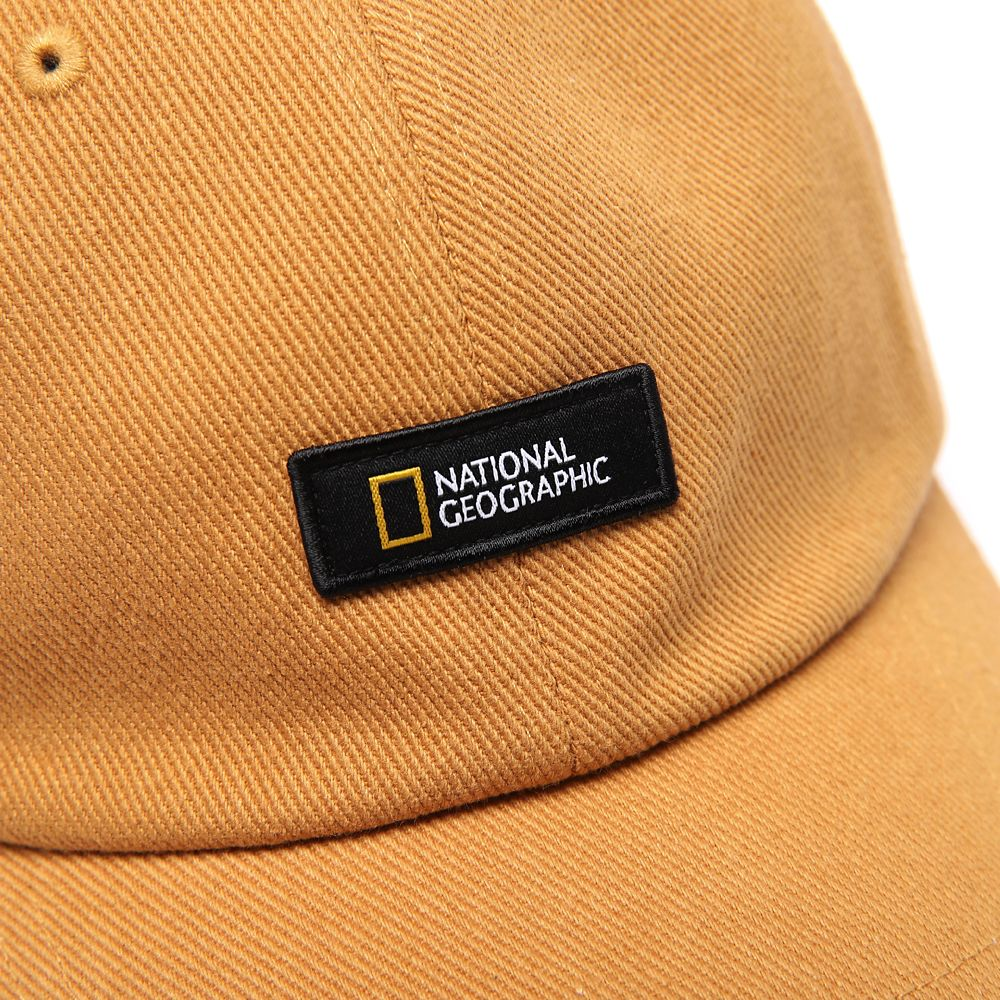 National Geographic Baseball Cap for Adults – Beige